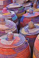 Colorful woven baskets, St. Remy de Provence, France