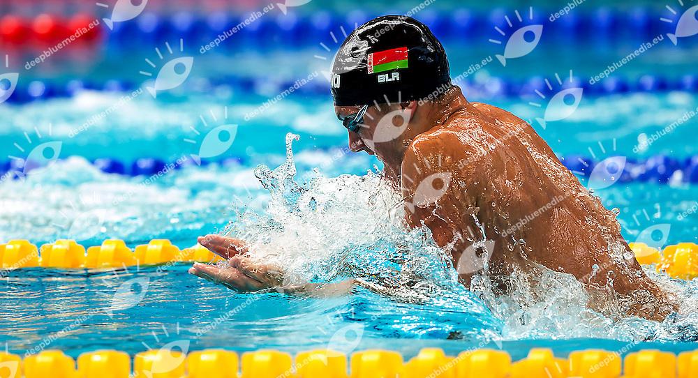 SHYMANOVICH Ilya Belarus BLR<br /> 4x100 medley men<br /> Swimming Nuoto Kazan Arena<br /> Day17 09/08/2015  FINALS<br /> XVI FINA World Championships Aquatics <br /> Kazan Tatarstan RUS July 24 - Aug. 9 2015 <br /> Photo G.Scala/Deepbluemedia/Insidefoto