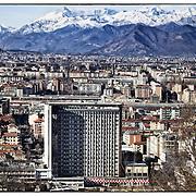 ospedale CTO, Torino Sky line