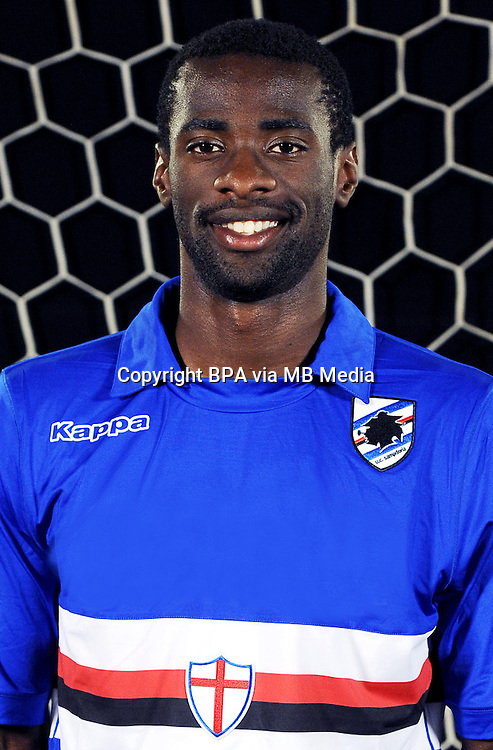 Italian League Serie A -2014-2015 / <br /> Pedro Obiang ( U.C Sampdoria )