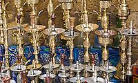 Hookahs in Cairo Bazaar