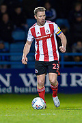Sunderland midfielder Grant Leadbitter (23) during the EFL Sky Bet League 1 match between Gillingham and Sunderland at the MEMS Priestfield Stadium, Gillingham, England on 7 December 2019.