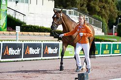 Demi Vermeulen, (NED), Vaness - Horse Inspection Para Dressage - Alltech FEI World Equestrian Games™ 2014 - Normandy, France.<br /> © Hippo Foto Team - Jon Stroud<br /> 25/06/14