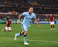 A.S. Roma v Manchester City 101214