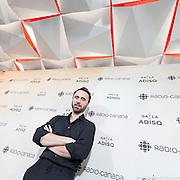 Louis-José Houde anime pour une 11e année le Gala de l'ADISQ 2016, remise des trophées Felix aux gagnants -  Place des Arts / Montreal / Canada / 2016-10-30, © Photo Marc Gibert / adecom.ca