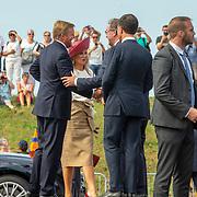 NLD/Terneuzen/20190831 - Start viering 75 jaar vrijheid, aankomst Willem-Alexander en Maxima