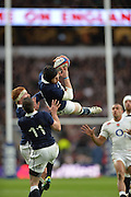 Twickenham, Great Britain, Six Nations Rugby England vs Scotland, played at the RFU Stadium, Twickenham, ENGLAND. Saturday 14/03/2015<br /> <br /> [Mandatory Credit; Peter Spurrier/Intersport-images]