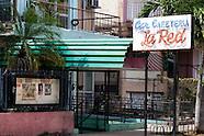 Bar cafeteria La Red, Havana Vedado, Cuba.