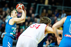 Klemen Prepelic of Slovenija during basketball match between National teams of Slovenia and Austria in 2nd Round of the 2021 EuroBasket Qualifiers, on February 23, 2020 in Arena Bonifika, Koper / Capodistria, Slovenia. Photo By Grega Valancic / Sportida