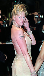 Actress Melanie Griffith arrives at the premiere of 'Cecil - B Demented'  during the Cannes Film Festival, France.