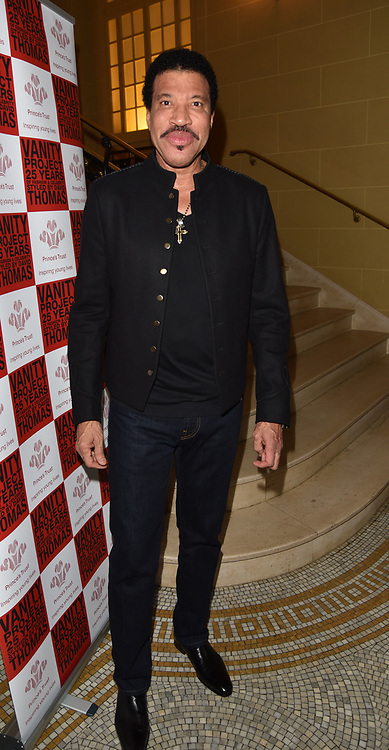 London,UK, 26th Feb 2015 : Lionel Richie, attends the Vanity Project for the Prince's Trust at Hotel Cafe Royal in London. Photo by See Li