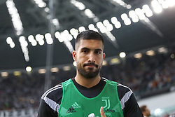 August 25, 2018 - Turin, Piedmont, Italy - Emre Can (Juventus FC) before the Serie A football match between Juventus FC and SS Lazio at Allianz Stadiumon august 25, 2018 in Turin, Italy. (Credit Image: © Massimiliano Ferraro/NurPhoto via ZUMA Press)