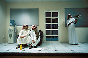 QATAR. Doha. Clinic for falcons. Waiting room...Falcon hunting is still a vivacious tradition. A private clinic for falcons opened a few years ago. The waiting room is always busy.