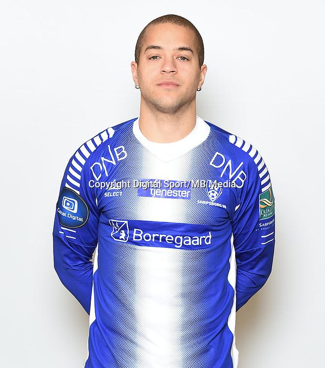 Fotball , Eliteserien , Tippeligaen  2015 , portrett , portretter<br /> Sarpsborg<br /> Andreas Nordvik