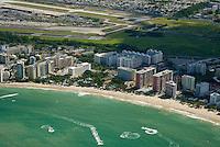 Aerial view of Isla Verde Beach