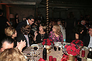 Bob Colacello, Princess Gloria von Thurn und Taxis  and the Begum Aga Khan.  SIMON de PURY AND THE PARTNERS OF PHILLIPS de PURY & COMPANY Host a dinner in honour of <br />