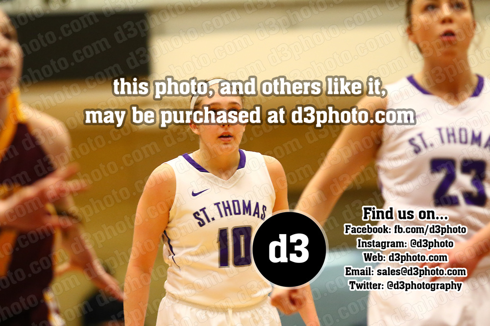 No. 4 University of St. Thomas defeated Concordia College 75-60 in MIAC play on Saturday afternoon at Schoenecker Arena on the St. Thomas campus.