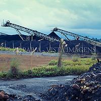 Industria de mineracao de carvao em Sideropolis, Criciuma, Sul de Santa Catarina, Brasil. foto de Ze Paiva/Vista Imagens