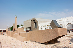 Sculpture The Ship Zone by Adam Henein at Mathaf: Arab Museum of Modern Art, Doha , Qatar.
