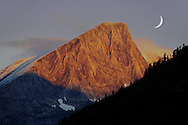 Sunrise on Rocky Mountains, Peter Lougheed Provinical Park, Alberta, Canada.