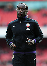 Arsenal's Bacary Sagna - Photo mandatory by-line: Dougie Allward/JMP - Tel: Mobile: 07966 386802 16/02/2013 - SPORT - FOOTBALL - Emirates Stadium - London -  Arsenal V Blackburn Rovers - FA Cup - Fifth Round
