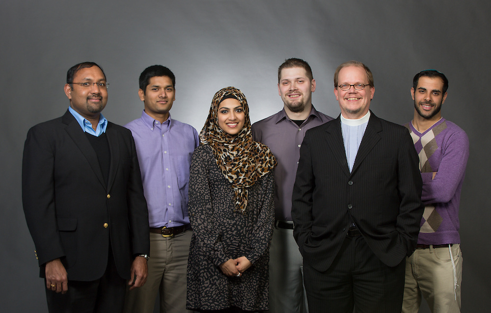 From left; George Pati, Shiv Yadav, Saba Uddin, Adam Cook, Brian Johnson, and Guy Shabtay
