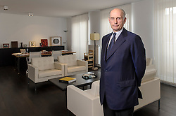 Mr. Bernard Ruiz-Picasso, the grandson of Pablo Picasso, at his office in Brussels, Belgium, on Wednesday, June 5, 2013. As the only legal heir in the family, Ruiz-Picasso owns the largest private collection of his grandfather's art work. (Photo © Jock Fistick)