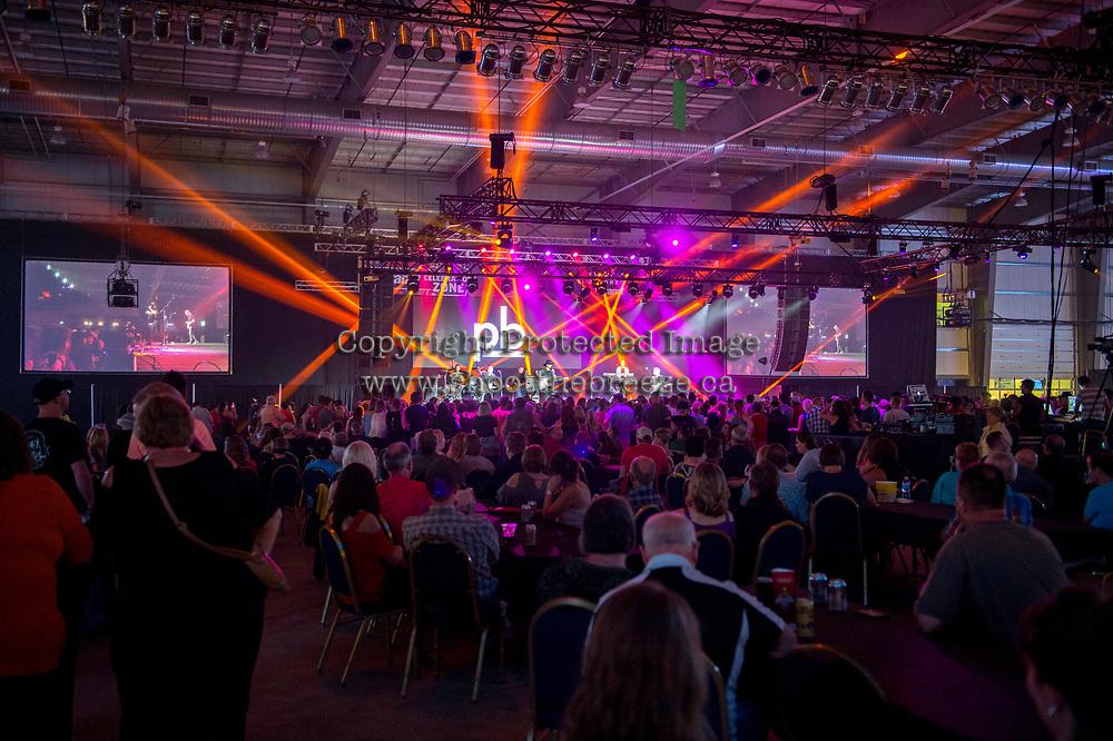 REGINA, SK - MAY 26:  at the Regina Casino Show Lounge on May 26, 2018 in Regina, Canada. (Photo by Marissa Baecker/CHL Images)