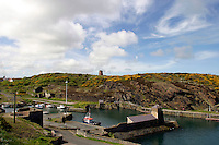 Port Amlwch, Anglesey, Wales. During the 19th century a major port for the export of copper from local mines on Parys Mountain.....