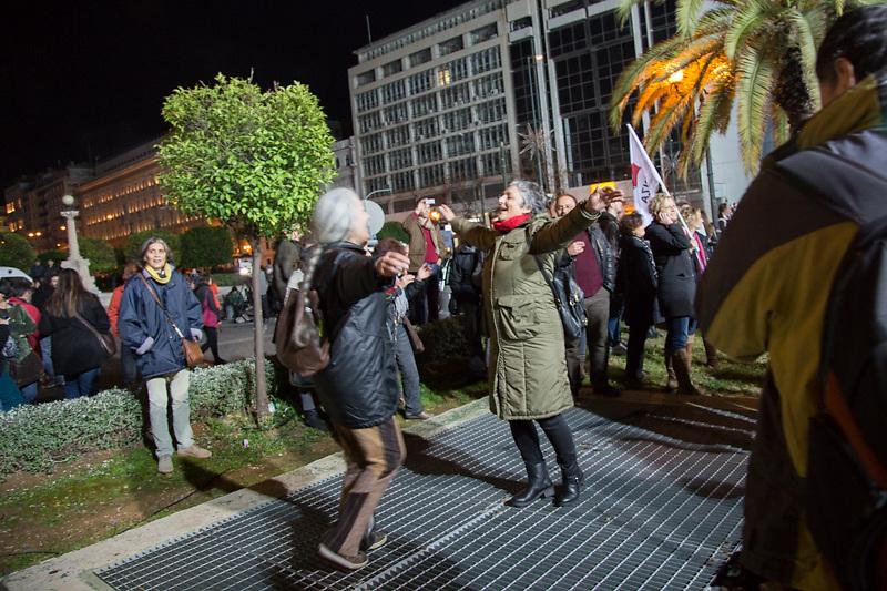 Alexis Tsipras, il discorso della vittoria ad Atene e i festeggiamenti.