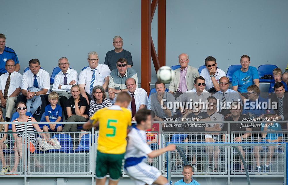 Suomi - Liettua. U19. Alle 19-vuotiaiden maajoukkue. S. 1995-. Baltic Cup, Eerikkilä, 25.6.2013. Photo: Jussi Eskola