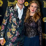 NLD/Amsterdam/20191009 - Uitreiking Gouden Televizier Ring Gala 2019, Splinter Chabot en partner