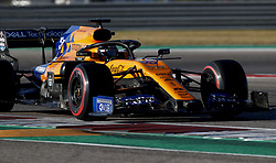 November 2, 2019, Austin, United States of America: Motorsports: FIA Formula One World Championship 2019, Grand Prix of United States, .#55 Carlos Sainz jr. (ESP, McLaren F1 Team) (Credit Image: © Hoch Zwei via ZUMA Wire)