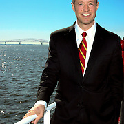 Maryland Governor Martin O'Malley at Dundalk Marine Terminal, Port of Baltimore