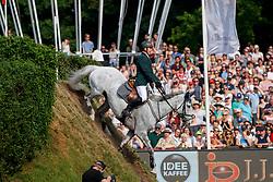 LENNON Dermott (IRL), Gelvins Touch<br /> Hamburg - 89. Deutsches Spring- und Dressur Derby 2018<br /> JJ Darboven 89. Deutsches Spring-Derby<br /> Wertungsprüfung zur DKB Riders-Tour<br /> 13.Mai 2018<br /> www.sportfotos-lafrentz.de/Stefan Lafrentz