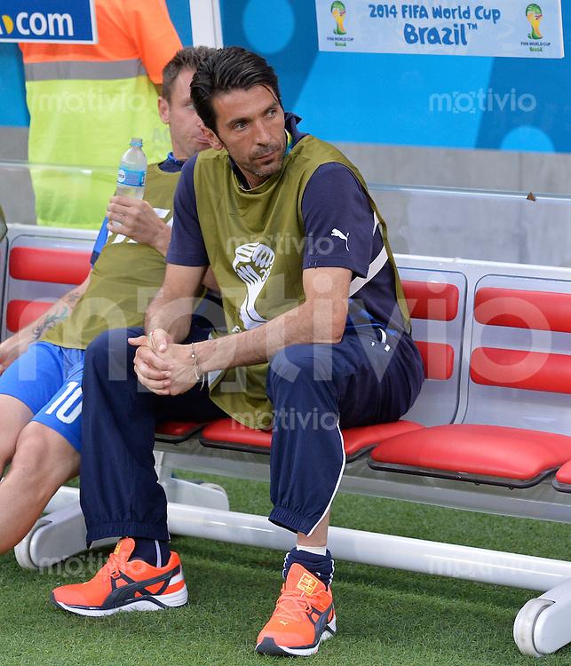FUSSBALL WM 2014  VORRUNDE    Gruppe D     England - Italien                         14.06.2014 Gianluigi Buffon (Italien)