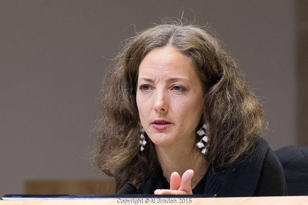 Austin Mayor Pro Tem Kathie Tovo at City Council Meeting