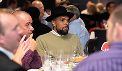 Scott Golbourne of Bristol City mingles with guests during the Lansdown Club event - Mandatory by-line: Robbie Stephenson/JMP - 06/09/2016 - GENERAL SPORT - Ashton Gate - Bristol, England - Lansdown Club -