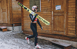 19.01.2020, Hochfirstschanze, Titisee Neustadt, GER, FIS Weltcup Ski Sprung, im Bild Karl Geiger (GER) // Karl Geiger of Germany during the FIS Ski Jumping World Cup at the Hochfirstschanze in Titisee Neustadt, Germany on 2020/01/19. EXPA Pictures © 2020, PhotoCredit: EXPA/ JFK
