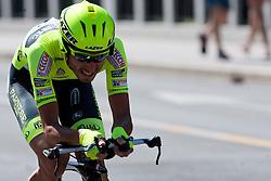 FAILLI Francesco of Farnese Vini at chronometer (17,8km) of Tour de Slovenie 2012, on June 17 2012, in Ljubljana, Slovenia. (Photo by Matic Klansek Velej / Sportida.com)