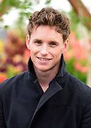 © Licensed to London News Pictures. 20/05/2013. London, UK. Eddie Redmayne. Press day at Chelsea Flower Show 2013. The centenary edition of the show attracts large number of visitors and is already sold out before opening day. Photo credit : Stephen Simpson/LNP