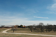JUSTIN, TX - FEBRUARY 4, 2014: A general view of the property and home for sale at 1780 Strader Road for the What You Get column. (Cooper Neill / for The New York Times)