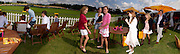 Emily Pearson, Tatiana Mountbatten, Lucy Brantley, Eliza Pearson and Princess Beatrice with goody bags on right, Veuve Clicquot gold Cup, Polo at cowdray, 18 July 2004. SUPPLIED FOR ONE-TIME USE ONLY> DO NOT ARCHIVE. © Copyright Photograph by Dafydd Jones 66 Stockwell Park Rd. London SW9 0DA Tel 020 7733 0108 www.dafjones.com