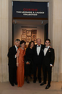 141014 MET LEONARD LAUDER RECEPTION/DINNER
