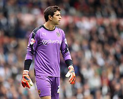 Emiliano Martinez of Wolverhampton Wanderers - Mandatory byline: Robbie Stephenson/JMP - 07966 386802 - 18/10/2015 - FOOTBALL - iPro Stadium - Derby, England - Derby County v Wolverhampton Wanderers - Sky Bet Championship