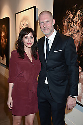 Natalie Imbruglia and Jean-David Malat at the launch of the new JD Malat Gallery, 30 Davies Street, London, England. 05 June 2018.