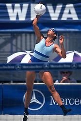 AVP/WPVA Professional Beach Volleyball/Womans Professional Volleyball - San Francisco, CA - May 23rd, 1996 - Karoline Kirby -  Photo by Wally Nell/Volleyball Magazine