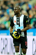 Jetro Willems (#15) of Newcastle United during the Premier League match between Newcastle United and Bournemouth at St. James's Park, Newcastle, England on 9 November 2019.