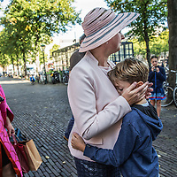 Nederland, Den Haag, 20 september 2016.<br />Vertrekkend Kamerlid Karin Straus wordt op de voet gevolgd tijdens Prinsjesdag. van de kapper naar haar kamer in het Tweede Kamergebouw.<br /><br /><br /><br />Foto: Jean-Pierre Jans