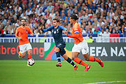 Antoine Griezmann (FRA), Virgil Van Dijk (NDL), Georginio Wijnaldum (NDL) during the UEFA Nations League, League A, Group 1 football match between France and Netherlands on September 9, 2018 at Stade de France stadium in Saint-Denis near Paris, France - Photo Stephane Allaman / ProSportsImages / DPPI